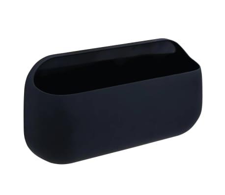 RIDDER Caja de almacenamiento con adhesivo negro