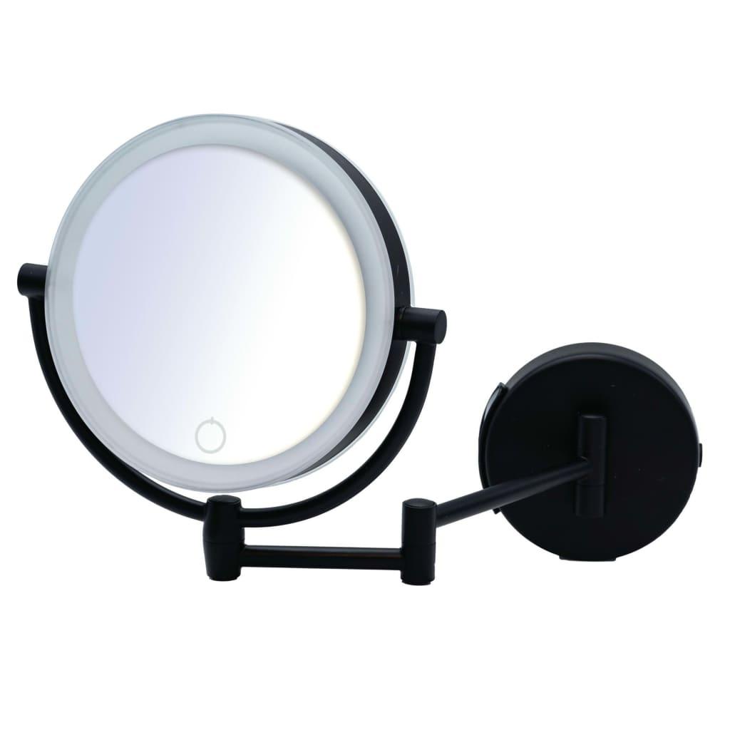 RIDDER Oglindă de machiaj Shuri, comutator tactil cu LED imagine vidaxl.ro