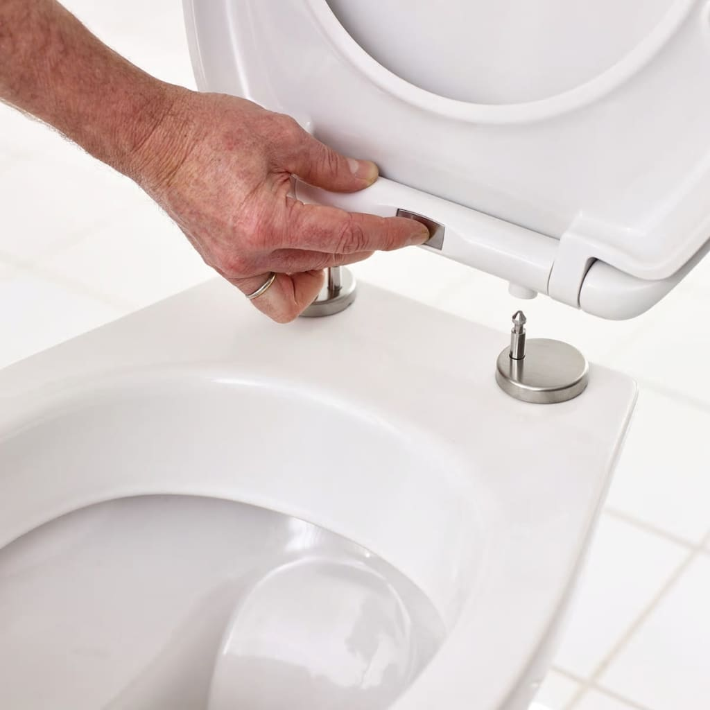 RIDDER Toiletbril Zebra soft-close wit 2211100