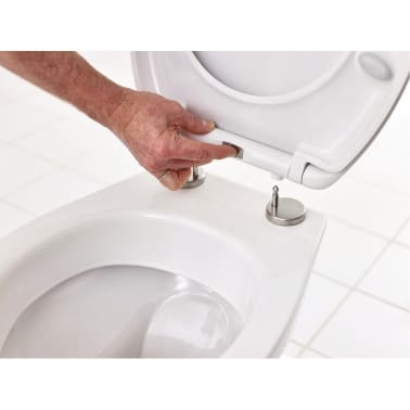 RIDDER WC-Sitz Generation mit Soft-Close Weiß 2119101[2/8]