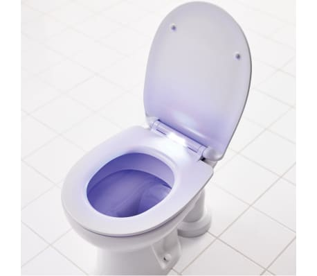 RIDDER WC-Sitz Las Vegas mit Soft-Close LED Weiß 2206101[4/8]
