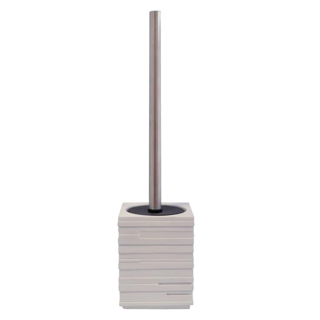 RIDDER toiletbørste med holder mursten hvid