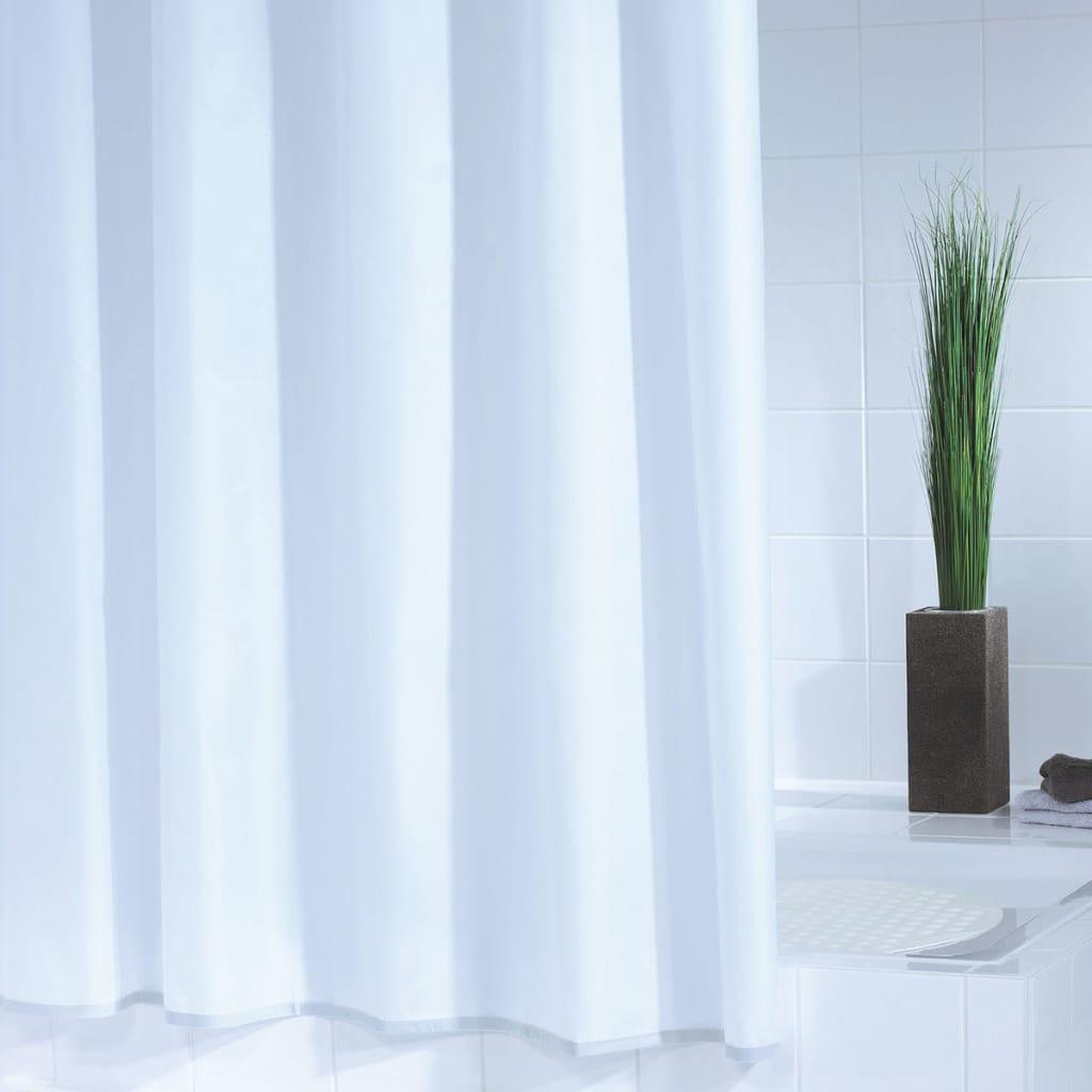 RIDDER Perdea de duș Standard, alb, 180 x 200 cm imagine vidaxl.ro