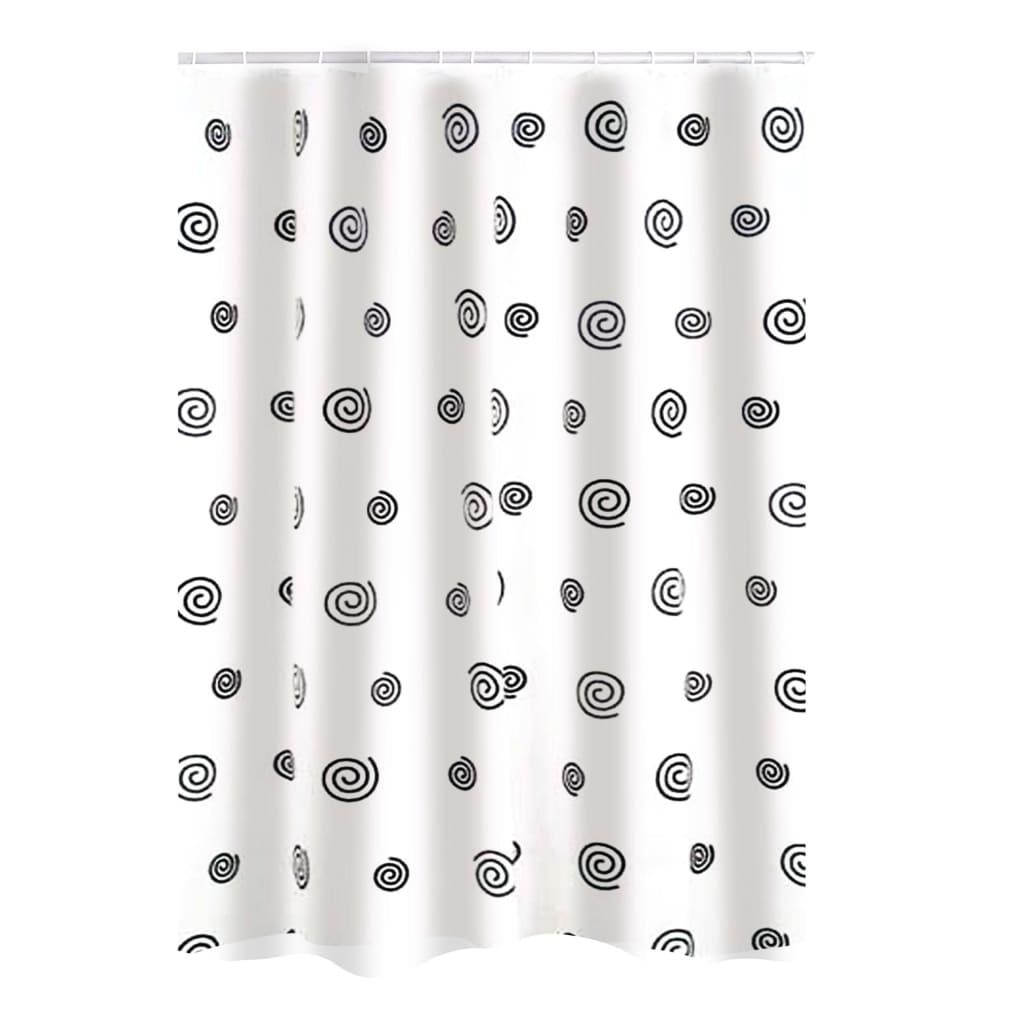 RIDDER Douchegordijn Snail textiel