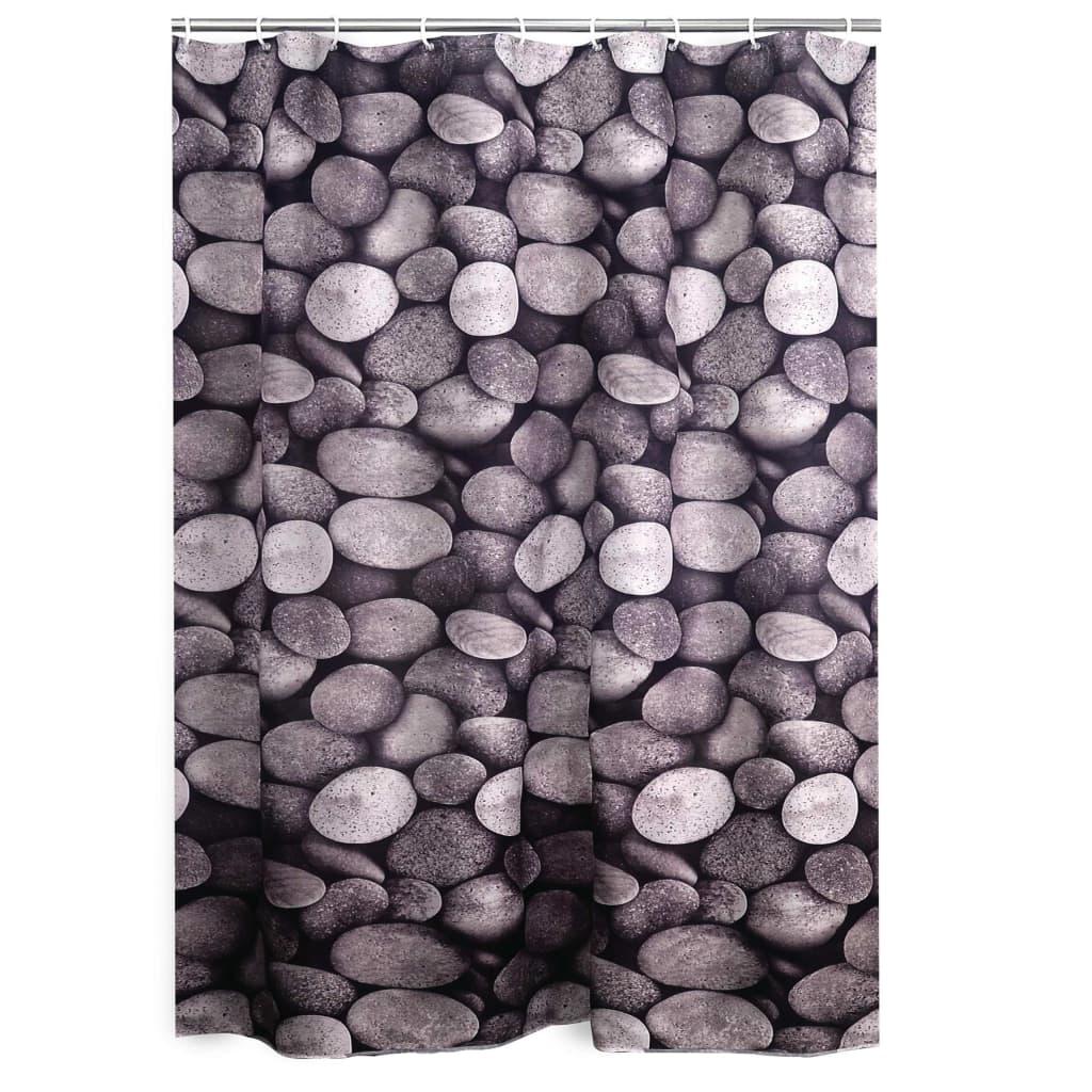 RIDDER Douchegordijn Piedras textiel