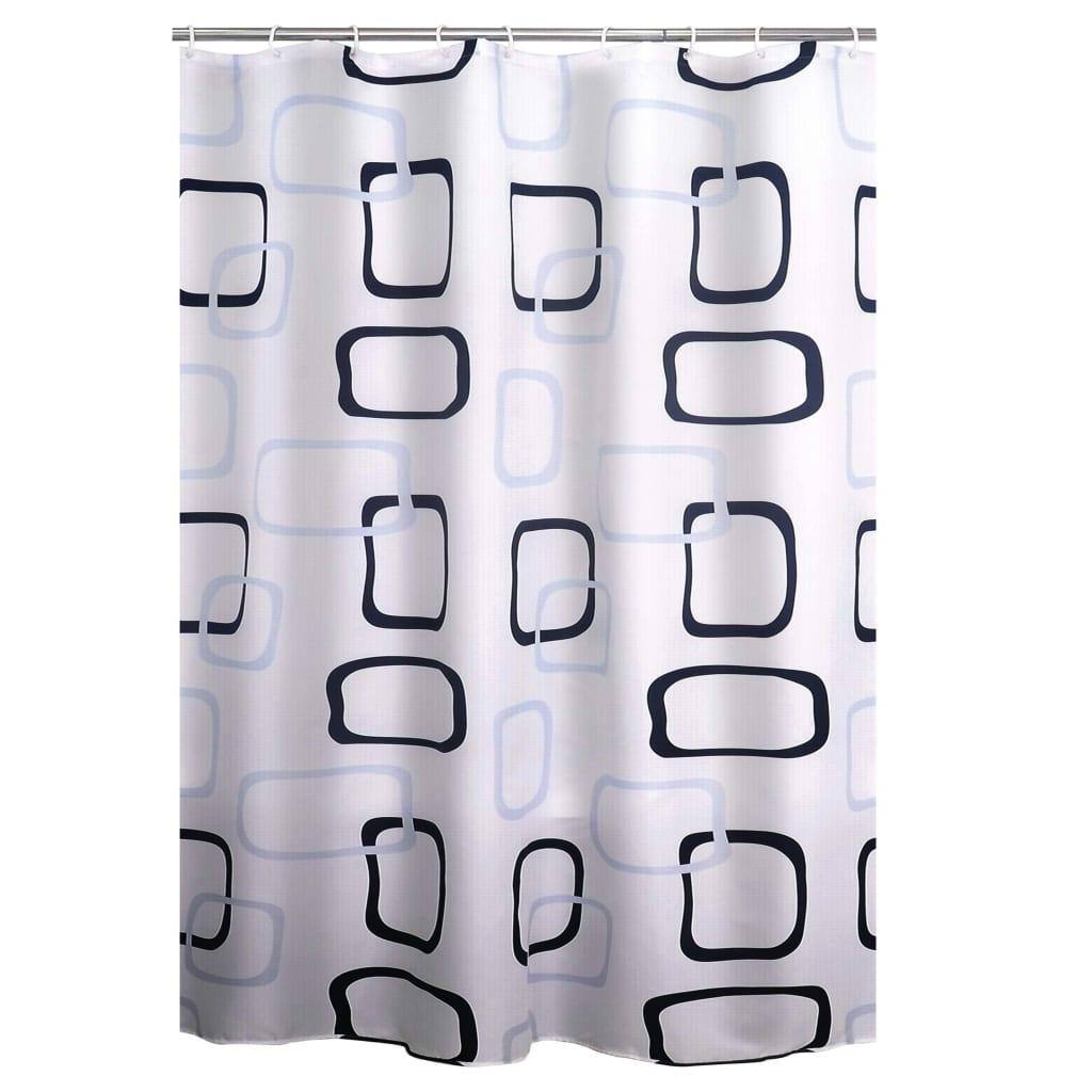 RIDDER Douchegordijn Geo textiel
