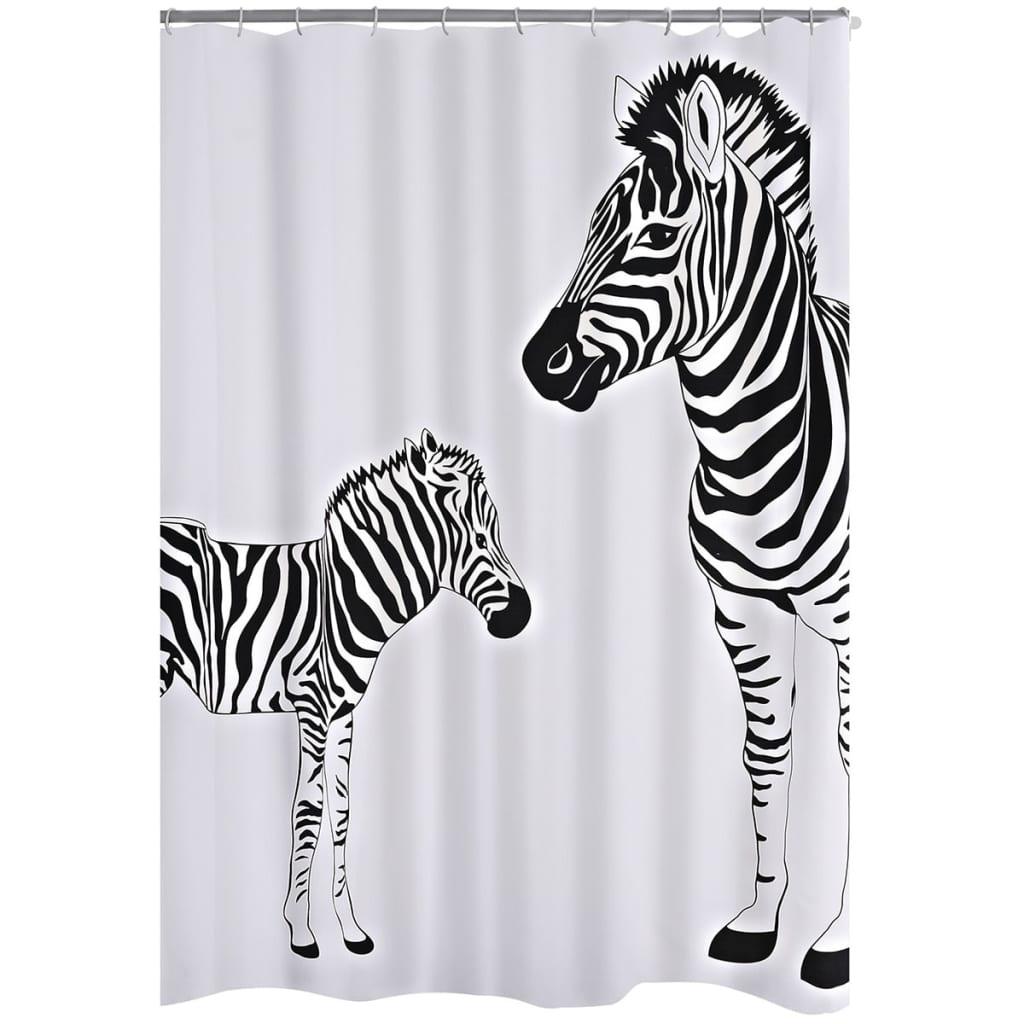 Afbeelding van RIDDER Douchegordijn Zebra 180x200 cm stof 42311