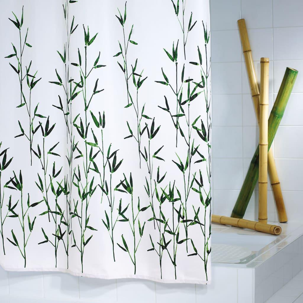 RIDDER Perdea de duș Bambus, 180 x 200 cm imagine vidaxl.ro