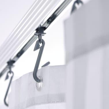 RIDDER universāls stūra dušas aizkara stienis ar āķīšiem, hroms, 52500[3/8]
