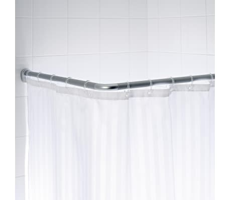 RIDDER Tringle de rideau de douche d'angle universelle 90x90x2,5 cm[2/3]
