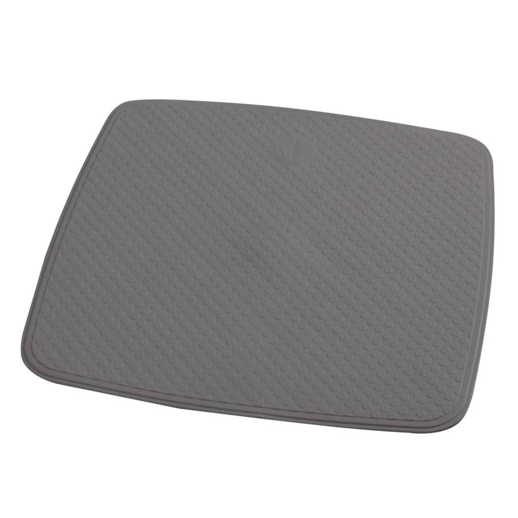 RIDDER Douchemat anti slip Capri 54x54 cm cementgrijs