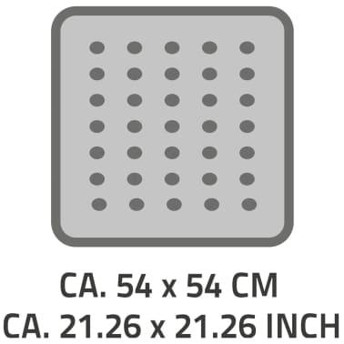RIDDER Douchemat anti-slip Capri 54x54 cm wit 66281[2/2]