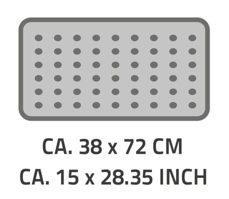 RIDDER Badmat anti-slip Plattfuß 72x38 cm wit 67081[2/2]
