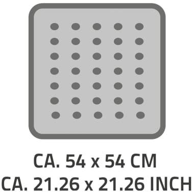 RIDDER Douchemat anti-slip Plattfuß 54x54 cm grijs 67287[2/2]