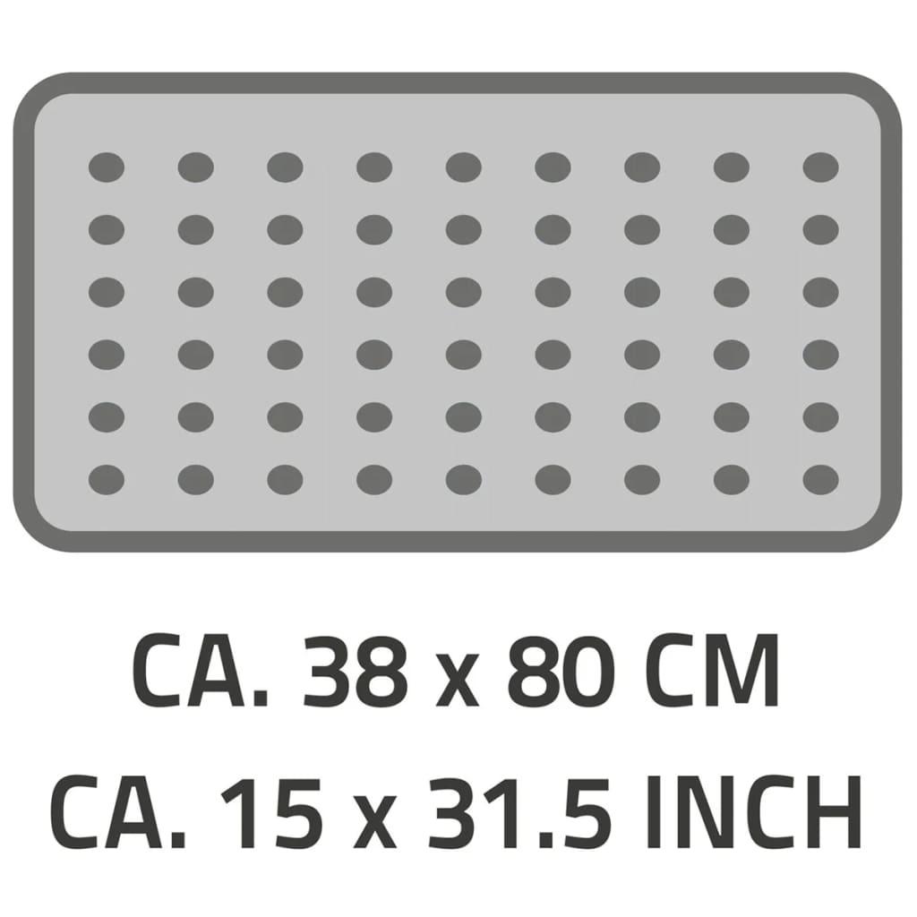 RIDDER Badewanneneinlage 80x38cm Neonblau Antirutschmatte Wanneinlage Bad