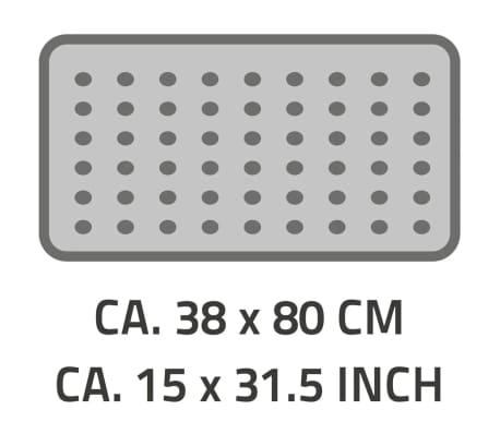 RIDDER Tapis de bain antidérapant Playa 80 x 38 cm Néon bleu 68303[2/2]
