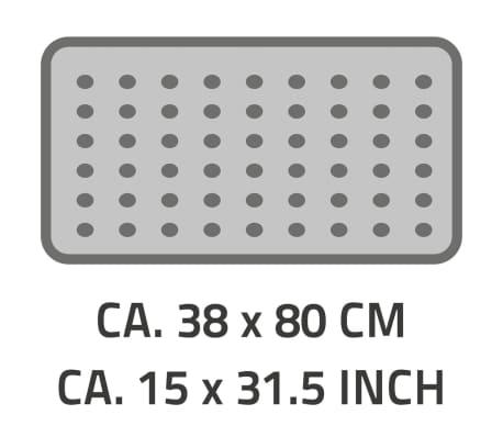 RIDDER Tapis de bain antidérapant Playa 80 x 38 cm Noir 68310[2/2]