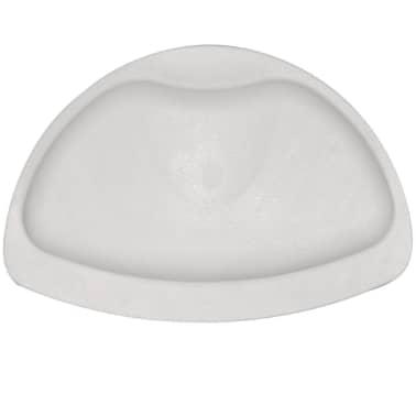RIDDER Reposacabezas para bañera caucho blanco 68601[1/3]