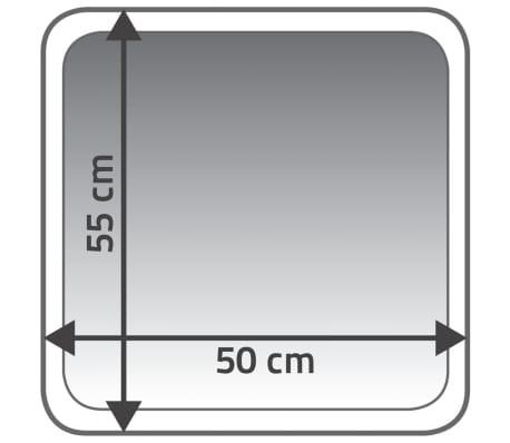RIDDER Alfombrilla de baño Carl 55x50 cm beige 7102809[4/4]