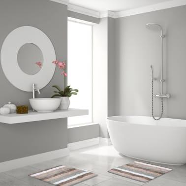 RIDDER Alfombrilla de baño Carl 55x50 cm beige 7102809[2/4]