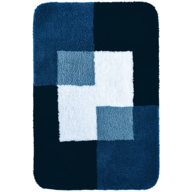 RIDDER Tapis de salle de bains Coins 60 x 90 cm Bleu 7103303[2/4]