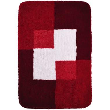 RIDDER Tapis de salle de bains Coins 60 x 90 cm Rouge 7103306[2/4]