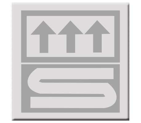 RIDDER Tapis de salle de bains Coins 60 x 90 cm Rouge 7103306[3/4]
