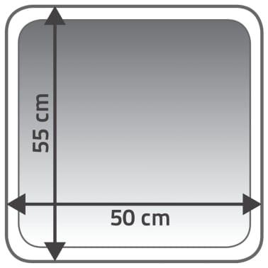 RIDDER Badkamermat Coins 55x50 cm grijs 7103807[4/4]