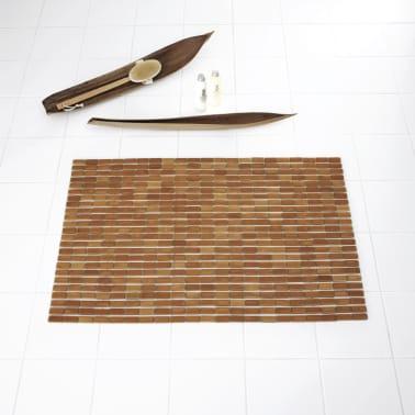 RIDDER Badkamermat Bamboo 90x60 cm hout[2/4]