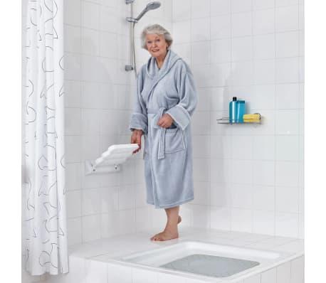 RIDDER Klappbarer Duschsitz Weiß A00200101[2/4]