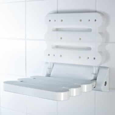 RIDDER Klappbarer Duschsitz Weiß A00200101[3/4]