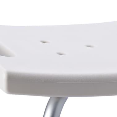 RIDDER Chaise de salle de bain Blanc 100 kg A00602101[2/5]