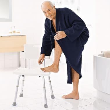 RIDDER Chaise de salle de bain Blanc 100 kg A00602101[3/5]