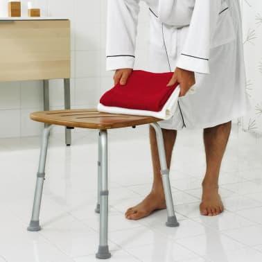RIDDER Tabouret de salle de bain Bambou 150 kg A00502081[2/4]