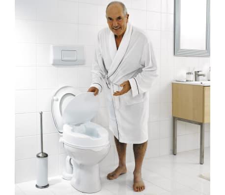 RIDDER Siège de toilette avec couvercle Blanc 150 kg A0071001[2/7]