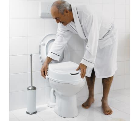 RIDDER Siège de toilette avec couvercle Blanc 150 kg A0071001[3/7]