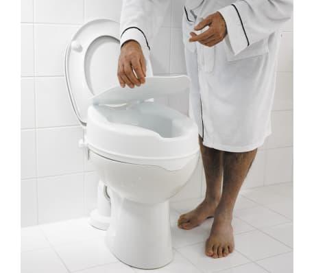 RIDDER Siège de toilette avec couvercle Blanc 150 kg A0071001[5/7]