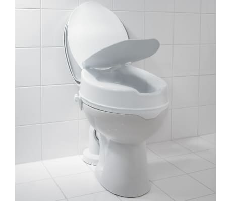 RIDDER Siège de toilette avec couvercle Blanc 150 kg A0071001[6/7]