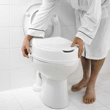 RIDDER Siège de toilette avec couvercle Blanc 150 kg A0071001[4/7]