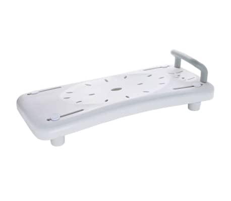 RIDDER Badewannenbrett Badewannensitz mit Haltegriff Weiß A0040101[1/3]