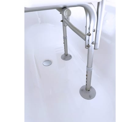 RIDDER Banc de transfert pour baignoire blanc 150 kg A0120101[2/3]