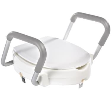 RIDDER Siège de toilette avec barre de sécurité Blanc 150 kg A0072001[1/7]