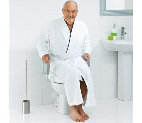 RIDDER Siège de toilette avec barre de sécurité Blanc 150 kg A0072001[2/7]