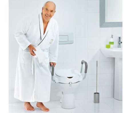 RIDDER Siège de toilette avec barre de sécurité Blanc 150 kg A0072001[5/7]