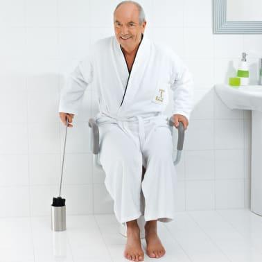 RIDDER Siège de toilette avec barre de sécurité Blanc 150 kg A0072001[3/7]