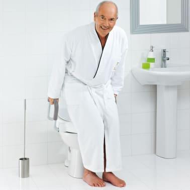 RIDDER Siège de toilette avec barre de sécurité Blanc 150 kg A0072001[4/7]