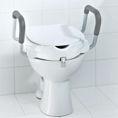 RIDDER Siège de toilette avec barre de sécurité Blanc 150 kg A0072001[6/7]