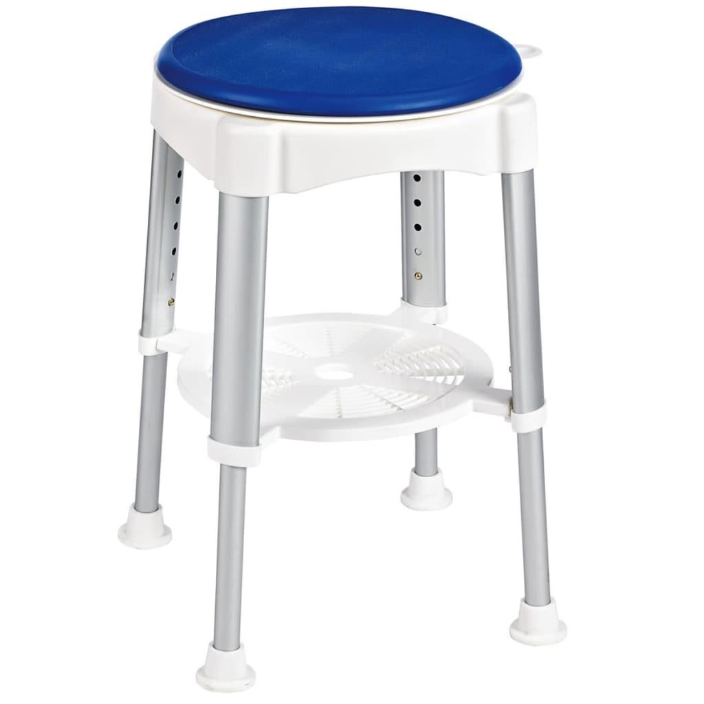 Afbeelding van RIDDER Badkamerkruk roterend 150 kg blauw A0050401