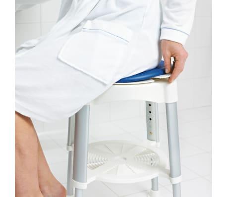 RIDDER Obrotowy stołek prysznicowy, niebieski, 150 kg, A0050401[3/8]