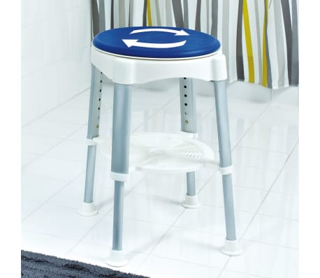 RIDDER Drehbarer Badhocker Blau 150 kg A0050401[3/8]